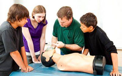 Færdselsrelateret førstehjælp  for unge knallertførere