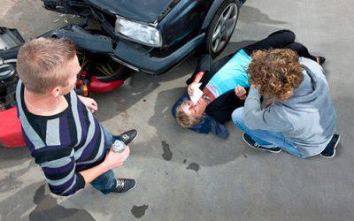 Færdselsrelateret førstehjælp bil/MC/traktor