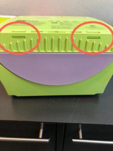 Zoll AED+ Beskyttelse til batteri